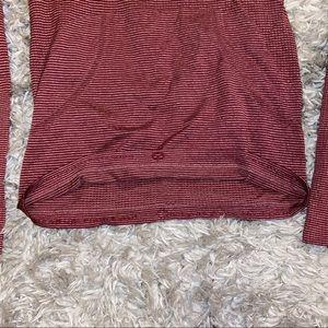lululemon athletica Tops - Lululemon swiftly tech burgundy long sleeve size 6